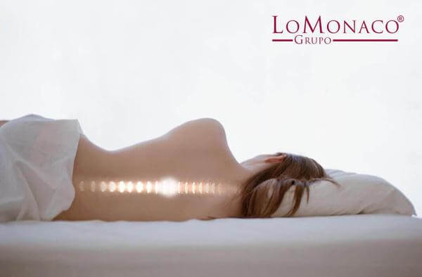 El dolor de espalda y la higiene postural durante el descanso
