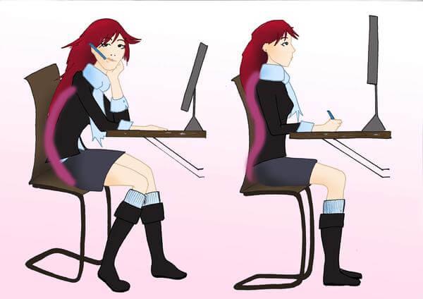 Higiene postural en el trabajo: cuidar la espalda