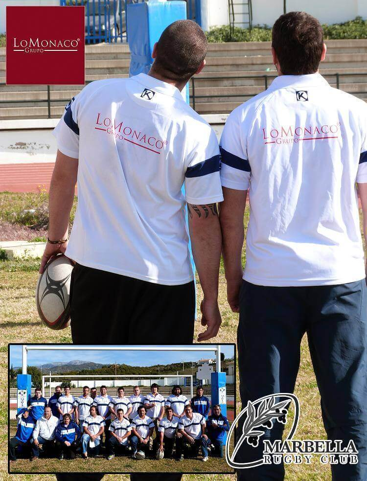 Grupo Lo Monaco patrocina al Marbella Rugby Club