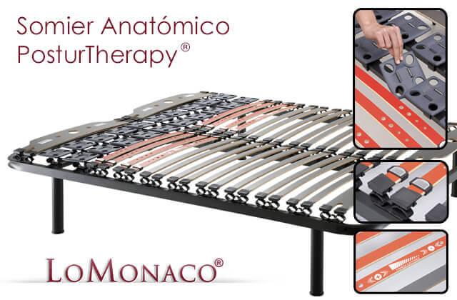 El Somier Anatómico Posturtherapy de Grupo Lo Monaco