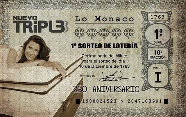 """""""Tal día como hoy…"""" 250 aniversario de la Lotería por Grupo LoMonaco"""