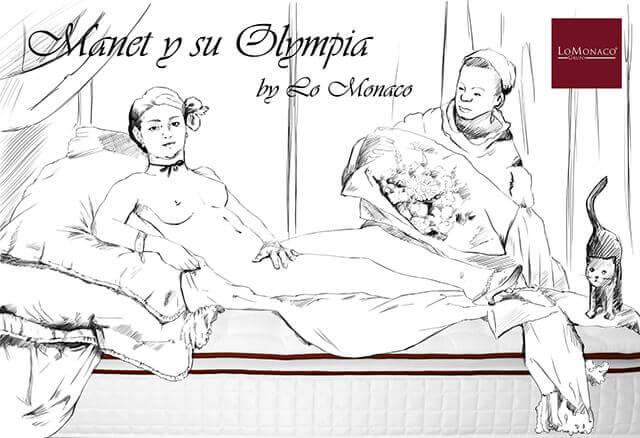 """""""Tal día como hoy…"""" La Olympia de Manet por LoMonaco"""