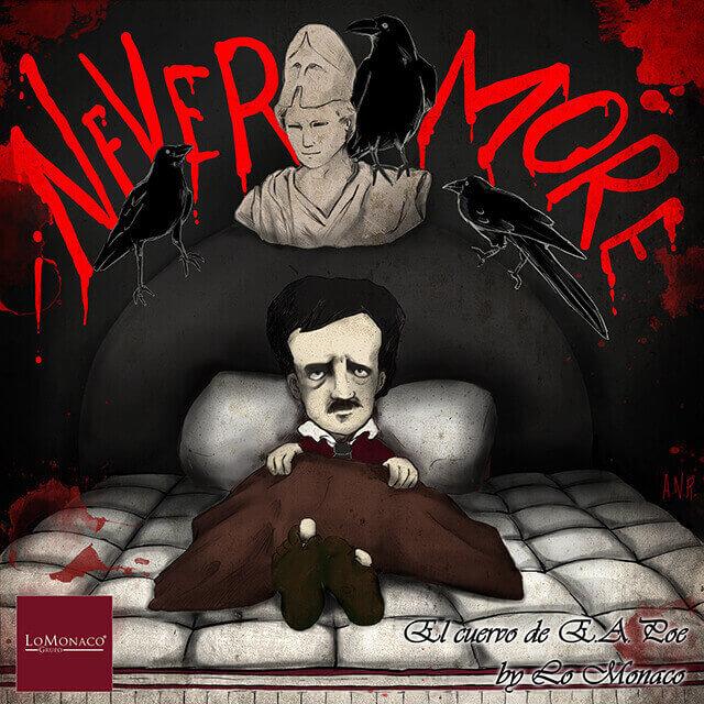 """""""Tal día como hoy…"""" El Cuervo de Poe por Grupo Lo Monaco"""