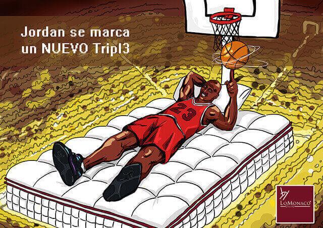 """""""Tal día como hoy…"""" Michael Jordan por Grupo Lo Monaco"""