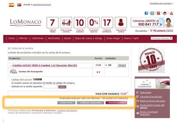 Comprar-colchón-online-LoMonaco