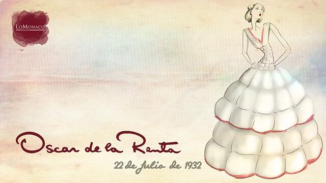 """""""Tal día como hoy… """" Cumpleaños de Oscar de la Renta"""