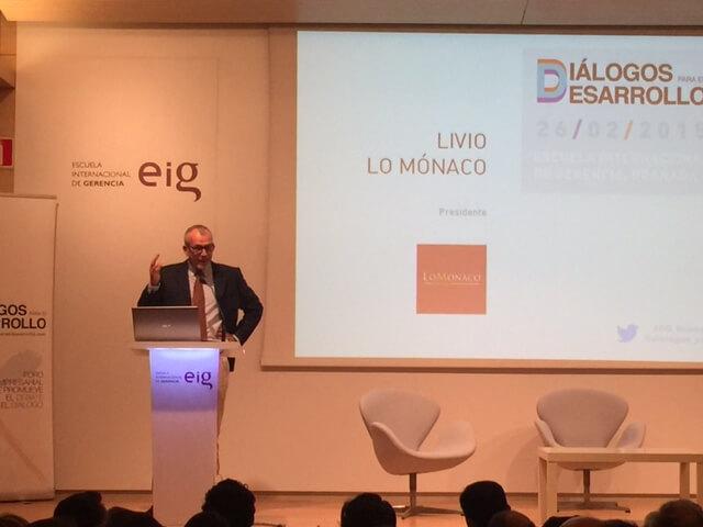 Encuentro empresarial patrocinado por Grupo Lo Monaco