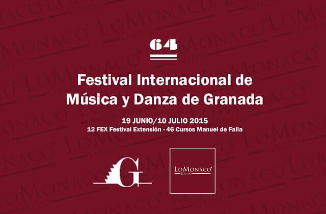 Patrocinio del Festival Internacional de Música y Danza