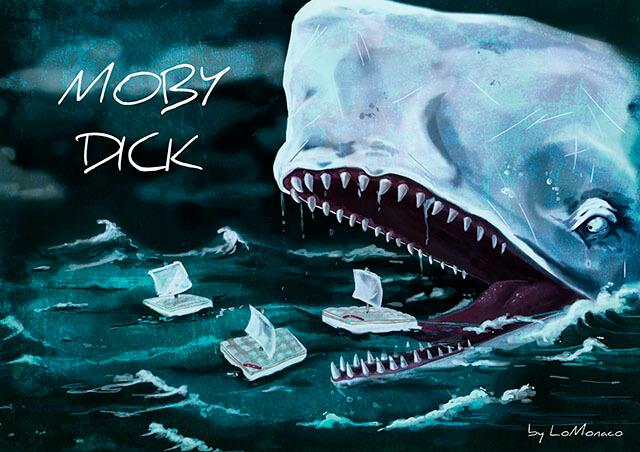 """""""Tal día como hoy…"""" Publicación de Moby Dick"""
