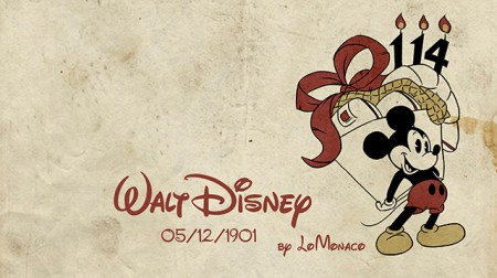"""""""Tal día como hoy…"""" Nace Walt Disney"""