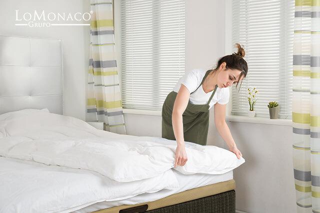 C mo mantener tu cama limpia blog de colchones lo monaco - Como lavar almohadas ...