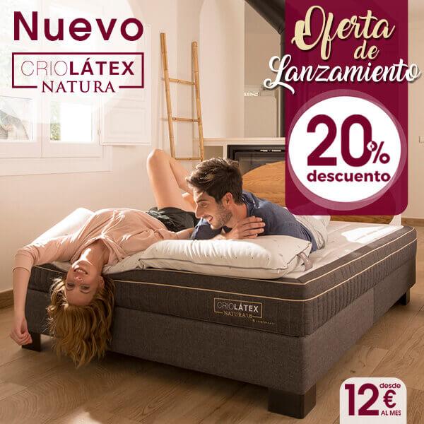 Nuevo colchón Criolátex® Natura de Lo Monaco, ¡todo en un solo colchón!
