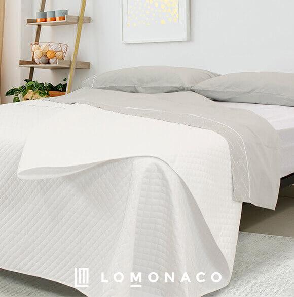 colcha blanca bouti LoMonaco